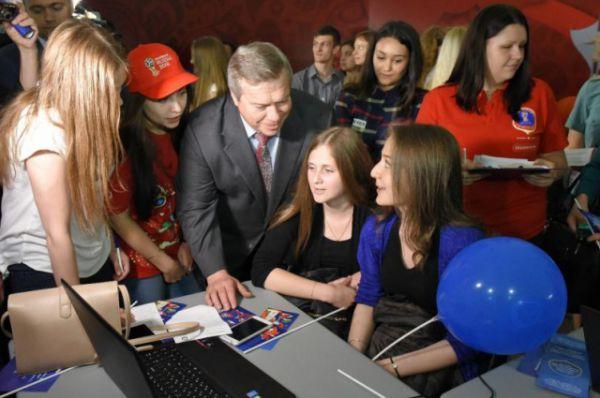 Почетным гостем мероприятия стал губернатор Ростовской области Василий Голубев.