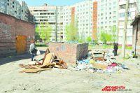 Работы по очистке города ведутся ежедневно.