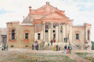 В Народном доме работали библиотека и музей, давали концерты заезжие звёзды.