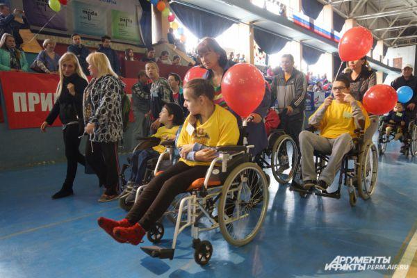 Фестиваль спорта детей-инвалидов