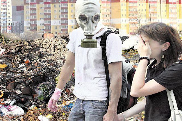 Два района Новосибирска дышат пылью