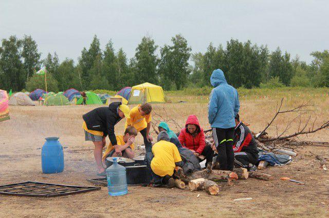 Участники  фестиваля будут жить в палаточном лагере.