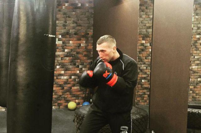 Андрей Сироткин готовится к новым боям.