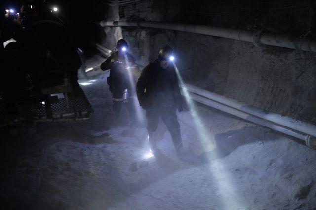 Пожар произошел нашахте вКузбассе