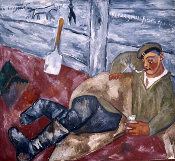 «Отдыхающий солдат», 1911 год.