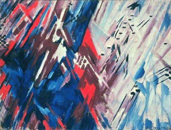«Красно-синий лучизм», 1913 год.