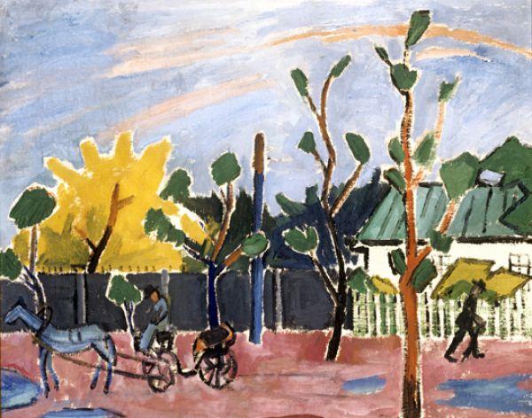 «Закат после дождя», 1908 год.