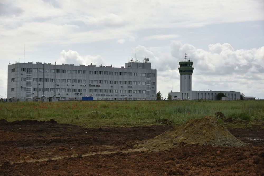 Место, где к весне 2018 года построят новый терминальный комплекс