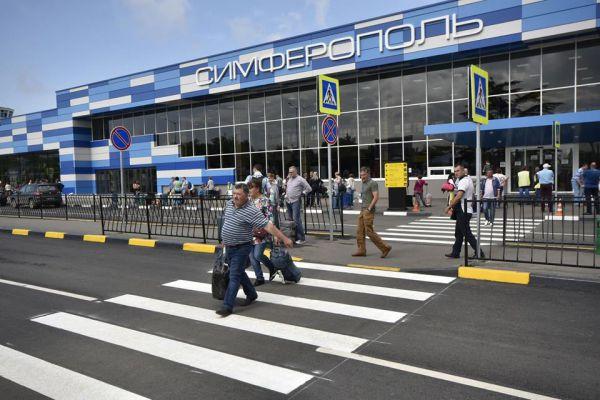 Число двухполосных дорог перед терминалами увеличено с одной до трех