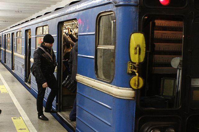 В метро обнаружили подозрительную сумку