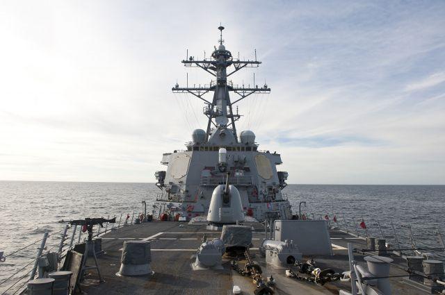 Американский эсминец Porter готовится зайти вЧёрное море 6июня