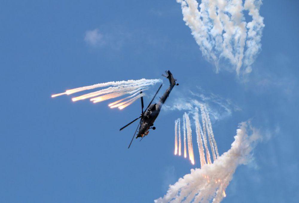 «Беркуты» – единственные, кто выполняет фигуры высшей степени сложности на боевых вертолетах