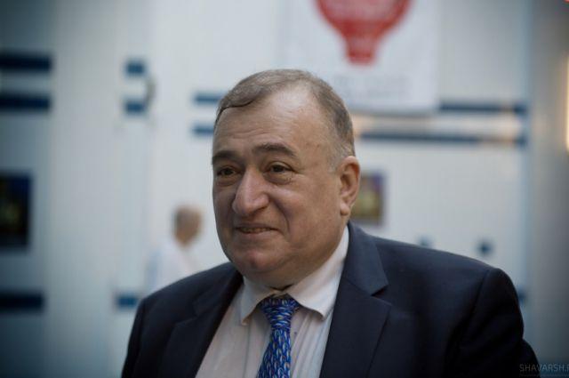 Шаварш Карапетян в Челябинске.