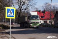 В Калининградской области вводят особый режим движения грузовых автомобилей.