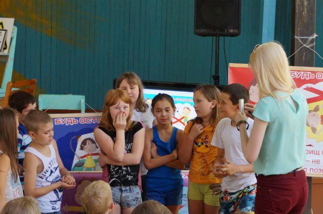 В ульяновском «Артеке» прошлое лето началось с урока безопасности.