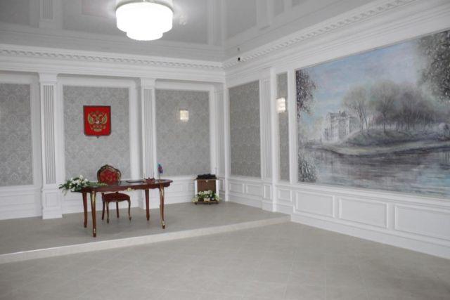 В Калининграде после реконструкции открыли областной ЗАГС.