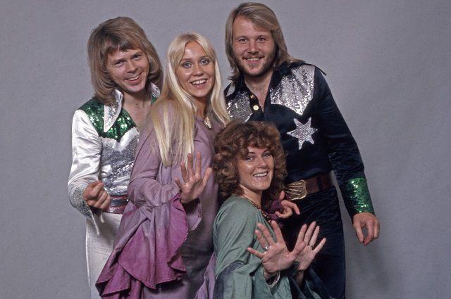 ABBA воссоединилась вчесть 50-летия группы