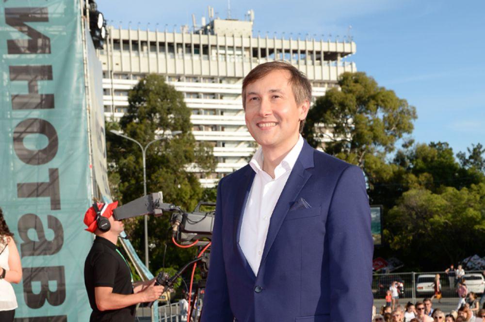 Председатель жюри основного конкурса, режиссер Николай Лебедев.