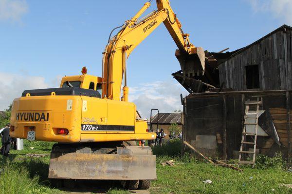 6 июня снесли ещё 11 цыганских домов