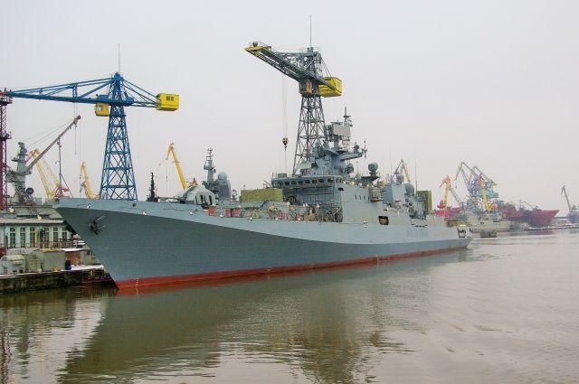 Фрегат «Адмирал Эссен» вошел в состав ВМФ РФ и отправится в Севастополь.