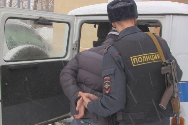 Налетчиков арестовали рядом с местом преступления