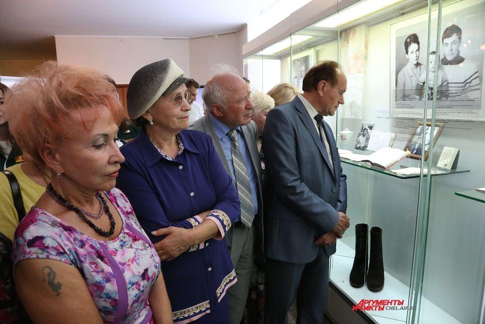 """На выставке """"Пётр Сумин-народный губернатор"""""""