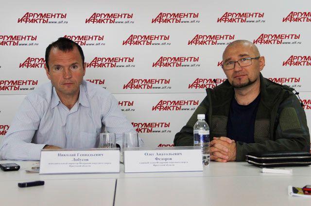 Николай Лобусов и Олег Федоров