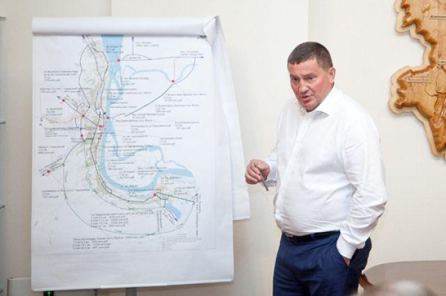 Как заставить Волгоград двигаться? Андрей Бочаров представил стратегический план дорожно-транспортного строительства.