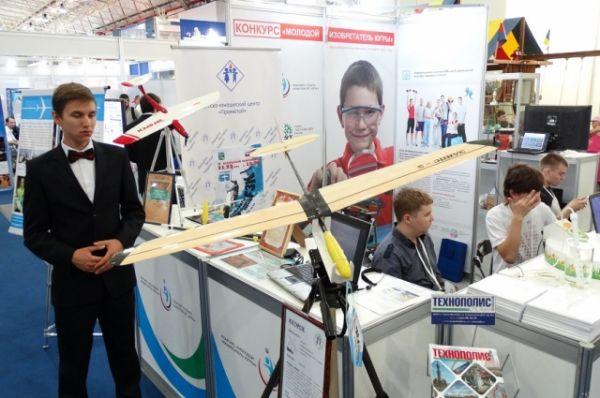 Этот летательный аппарат представила молодежь из Югорска.