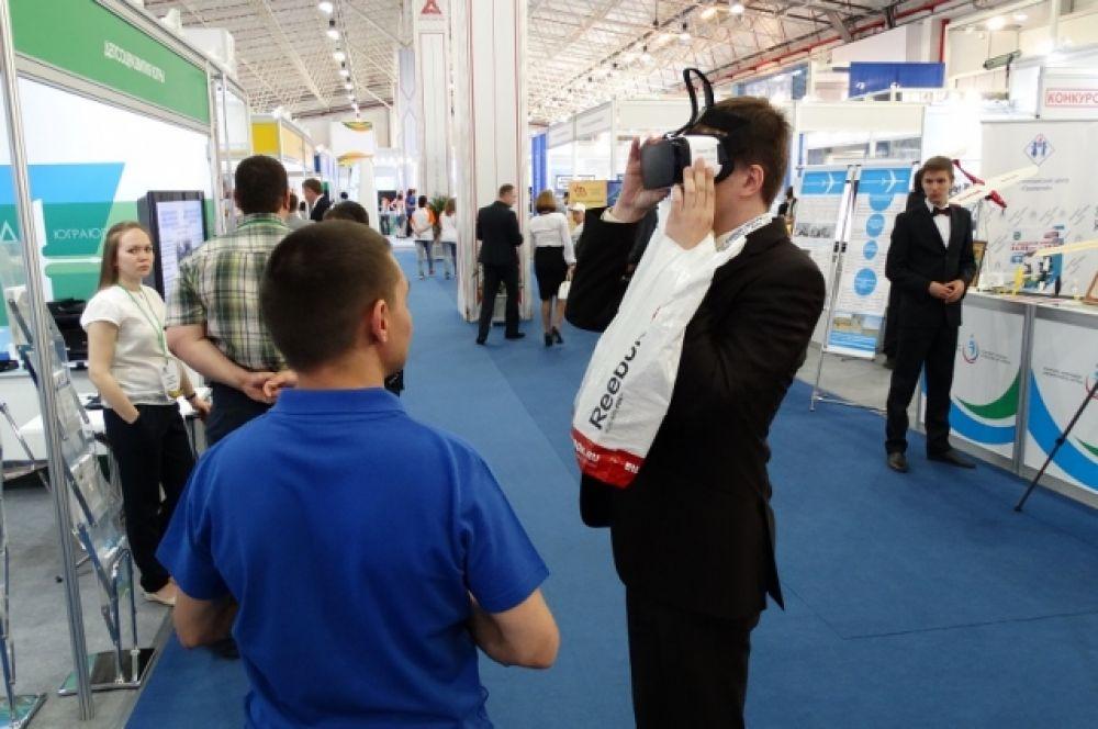 """На выставке """"Информационные технологии для всех""""."""