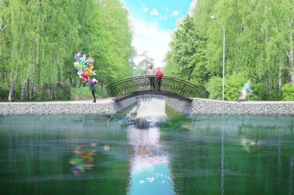 Сейчас пролеты моста в очень плохом состоянии.
