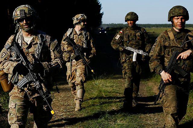 Учения НАТО «Анаконда-2016».