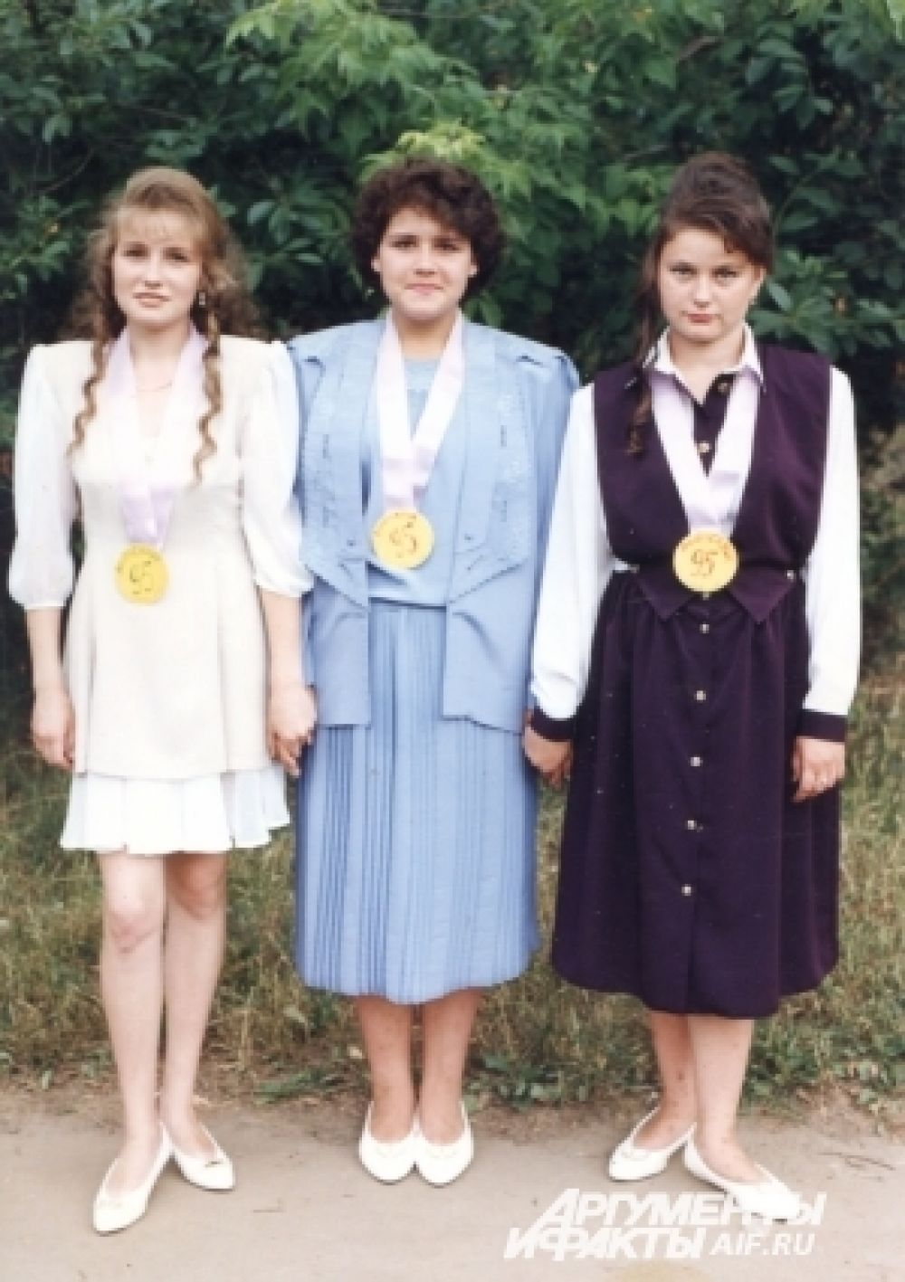 Выпускницы 1995 года, Казань.