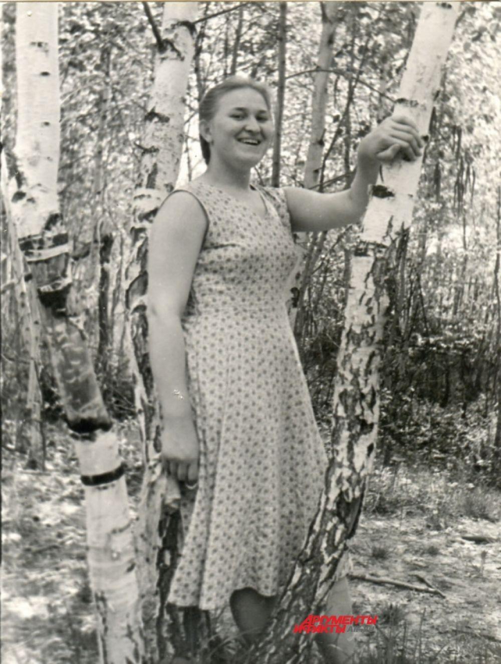 Выпускница конца 50-х годов, Казань.