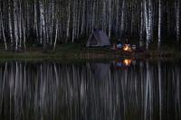 Запрет костров не может побороть страсть смолян к отдыху у огня.