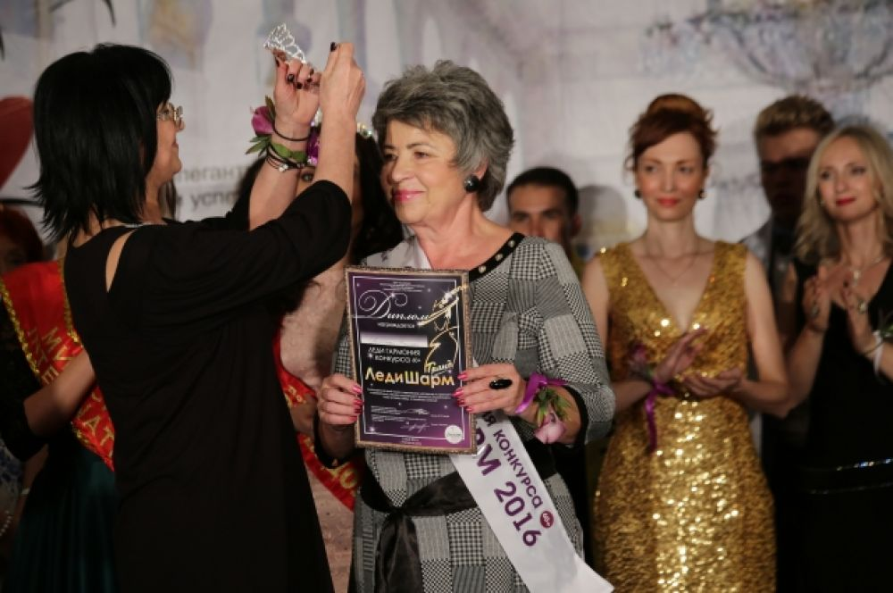 В категории «Гранд Леди Шарм» Леди Экстравагантность признана Тамара Аскерова.