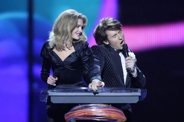 В 2009-м году в паре с Андреем Малаховым провела полуфинал конкурса «Евровидение», проходившего в Москве.