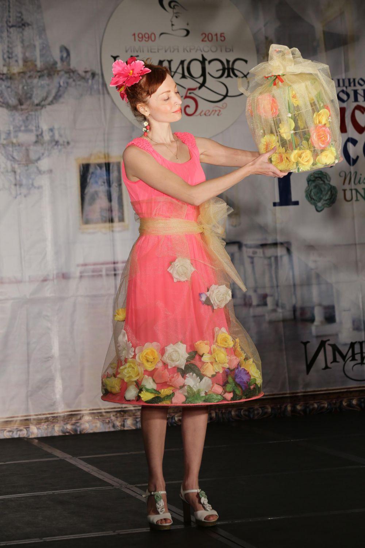 Участница под номером 8 - Людмила Чернова-Михайлова, Самара.