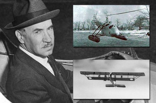Игорь Сикорский и его самолеты