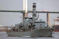 Противолодочный корабль HMS Kent.