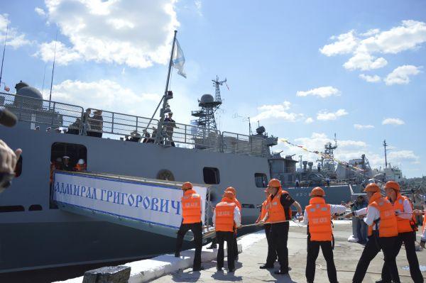 29 апреля СКР вышел из Балтийска и направился к месту постоянного базирования – Севастополь.
