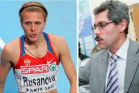 Юлия Степанова (Русанова) и Григорий Родченков.