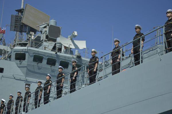 Это первый надводный корабль дальней морской зоны, который ЧФ получил за последние 35 лет.