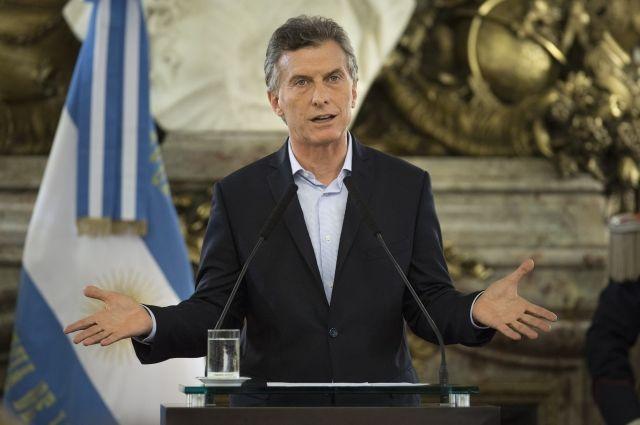 Путин созвонился спрезидентом Аргентины