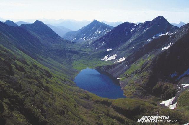 Красота природы завораживает.
