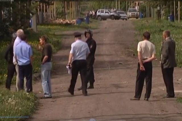 Территория вблизи дома, где живет стрелок, была оцеплена