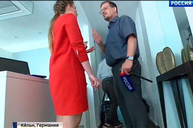 Ольга Скабеева и Хайо Зеппельт.