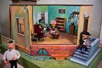 «Комната крокодила Гены» — экспонат Музея киностудии «Союзмультфильм».