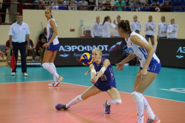 Сборная России по волейболу сыграет в Калининграде матч с голландками.