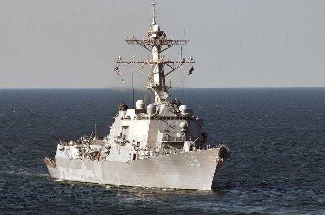 Российская Федерация ответит назаход американских кораблей вЧерное море— МИДРФ